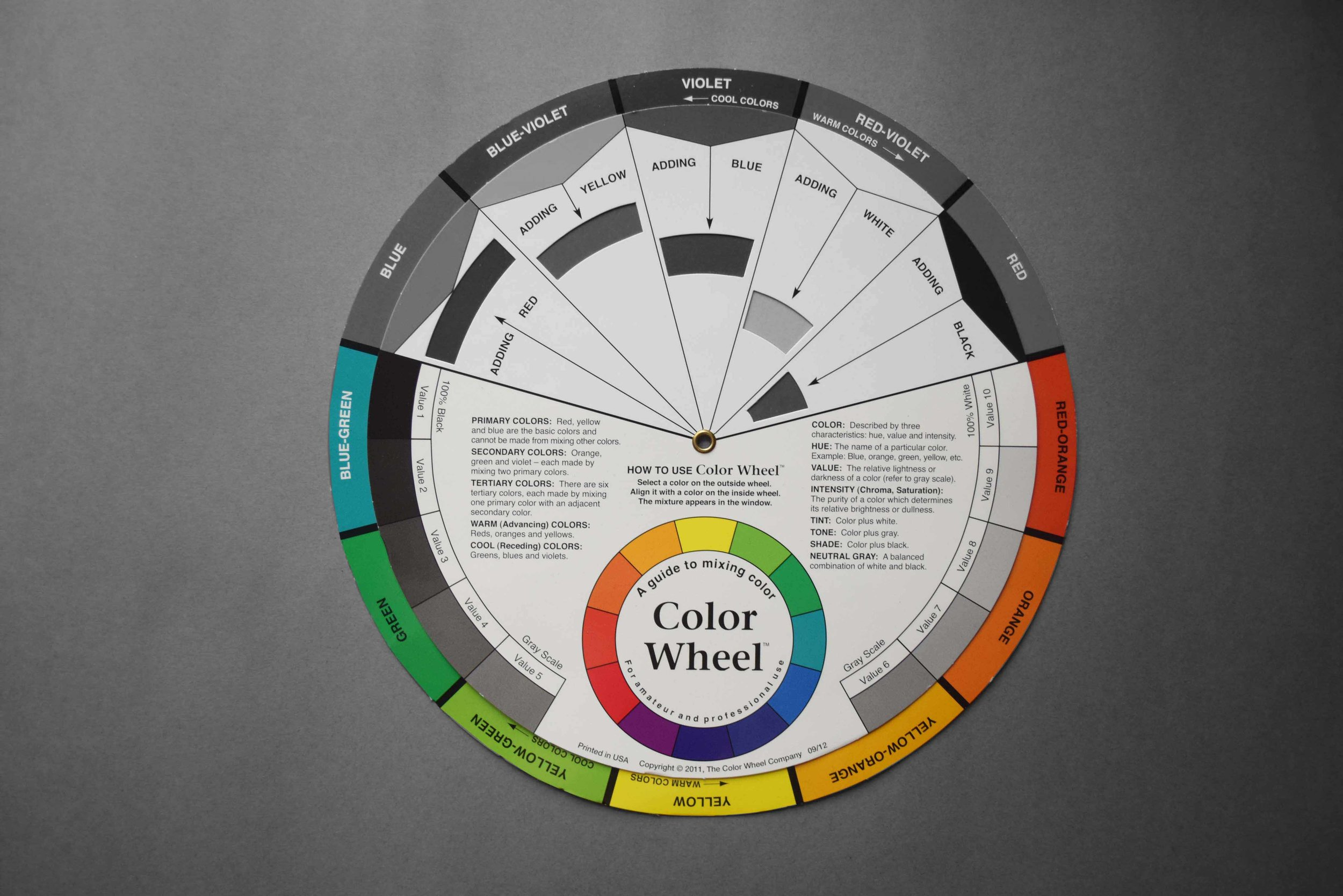 Colour wheel_Grey Scale_©Detail Movement