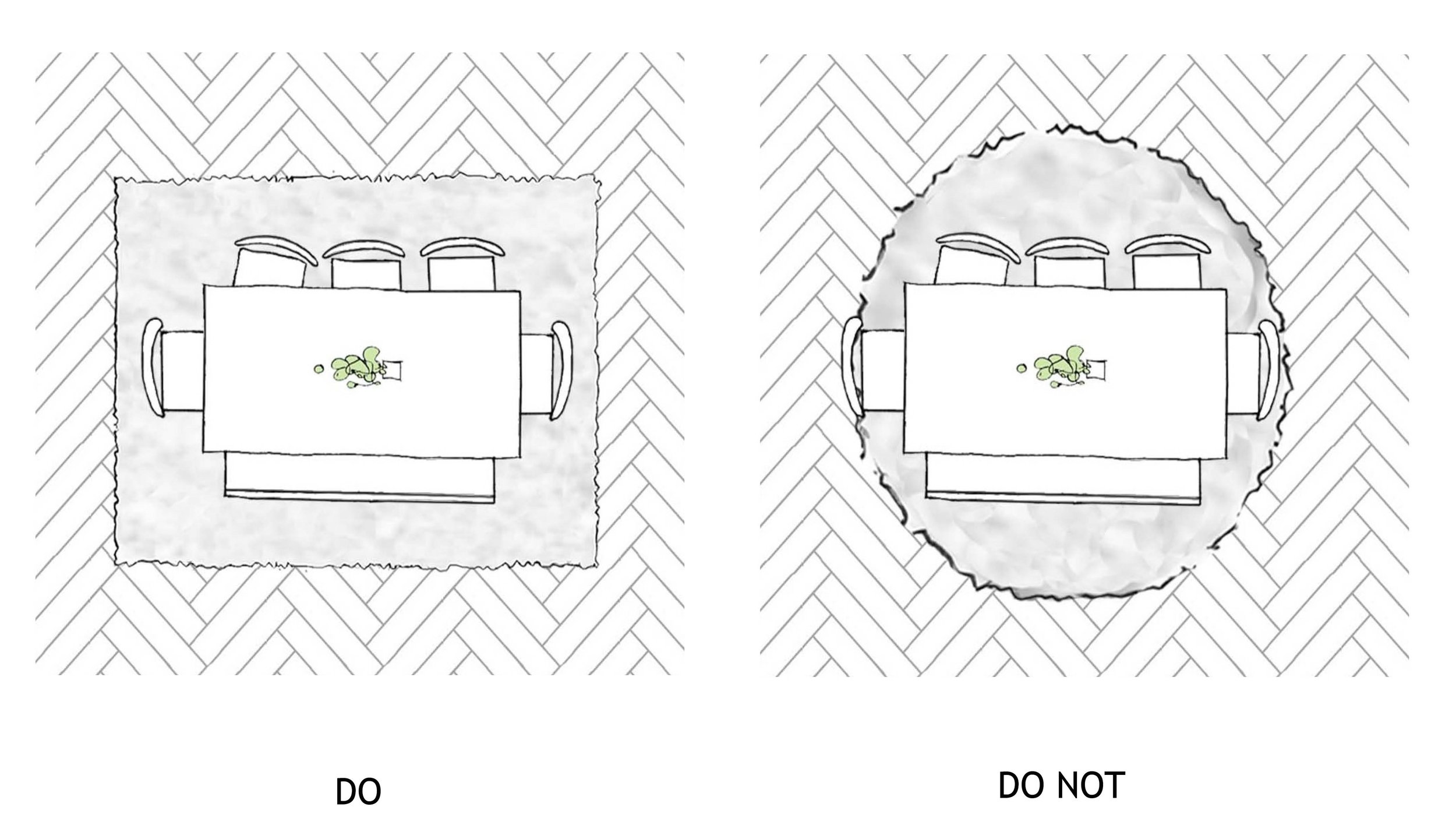 Interior design rug rules _©Detail Movement