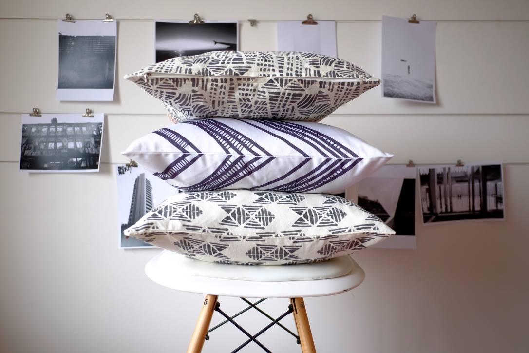 Halfdrop cushion designs - Photo via Halfdrop