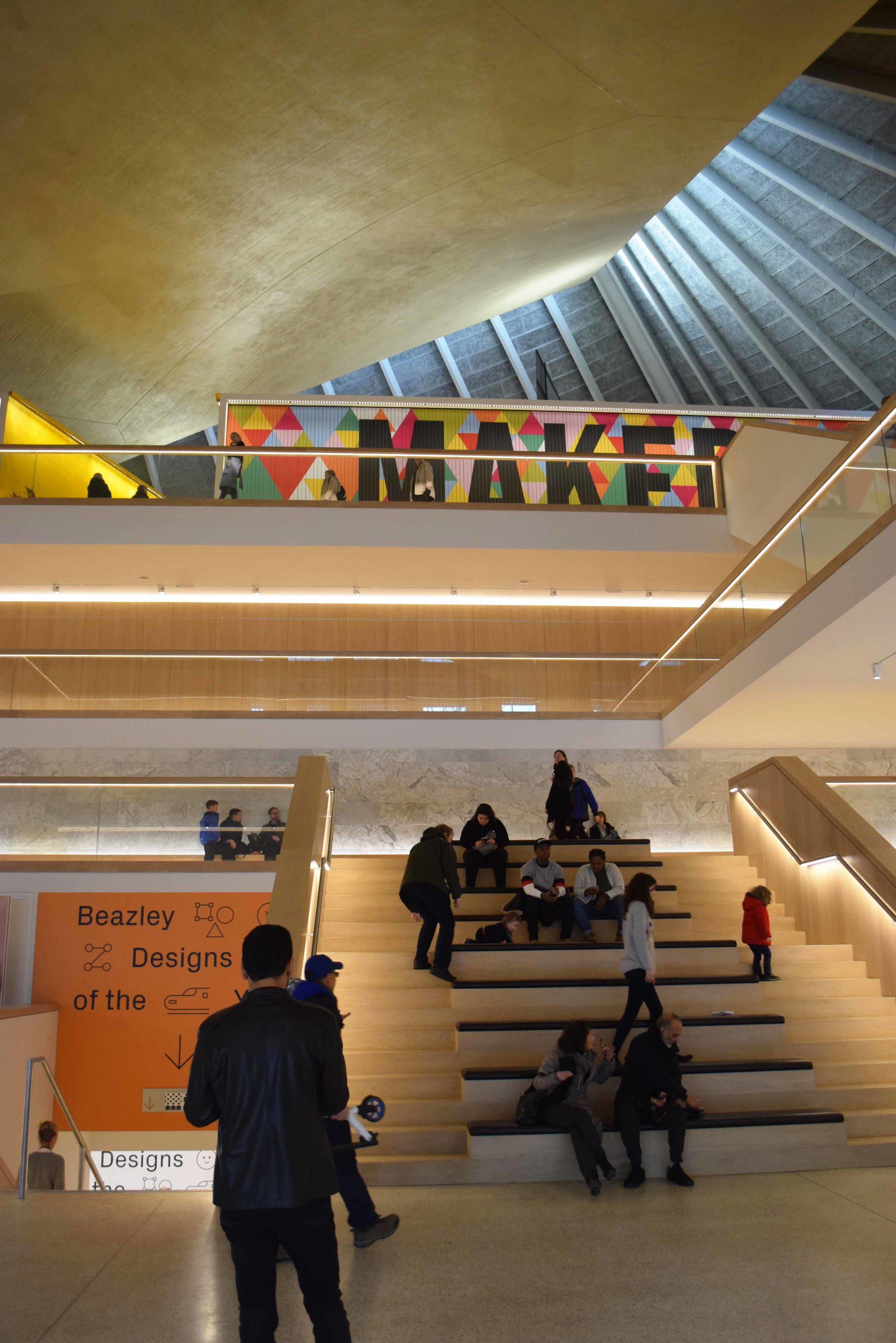 Design Museum atrium - ©Detail Movement