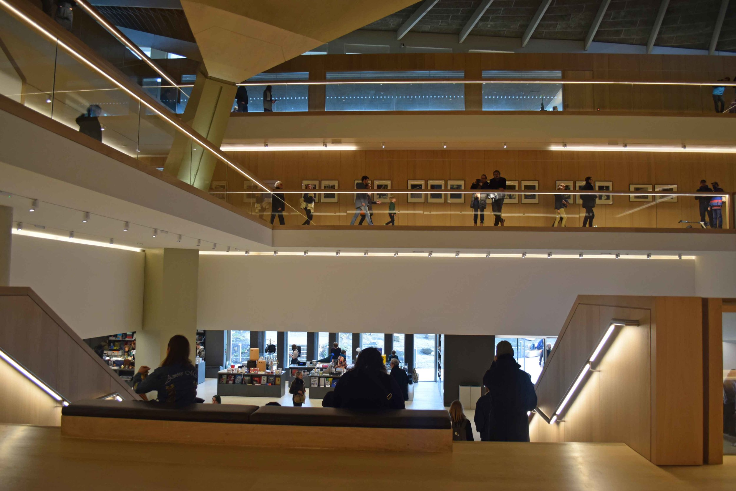 Design Museum atrium and roof - ©Detail Movement