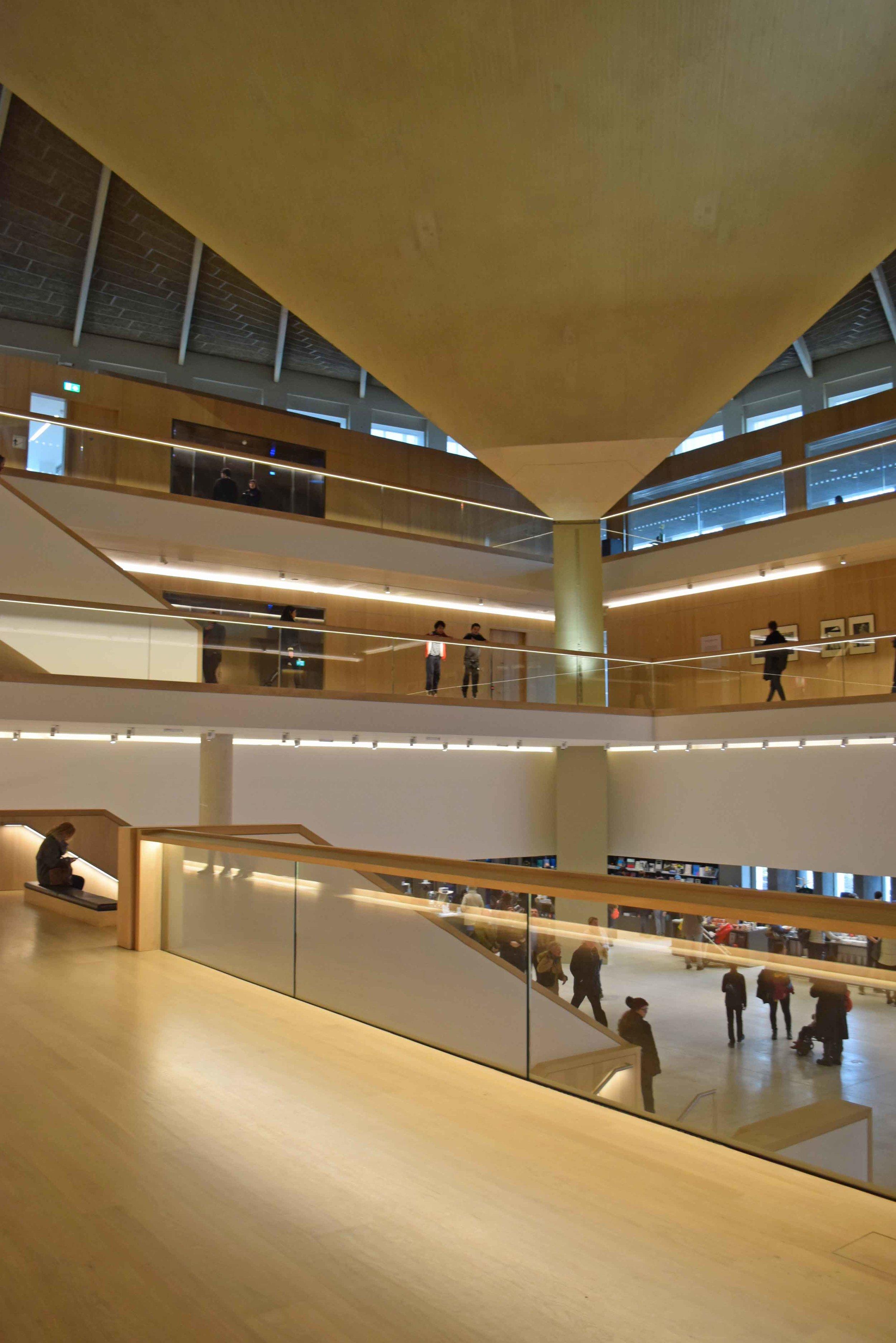 Design Museum atrium and roof 2 - ©Detail Movement