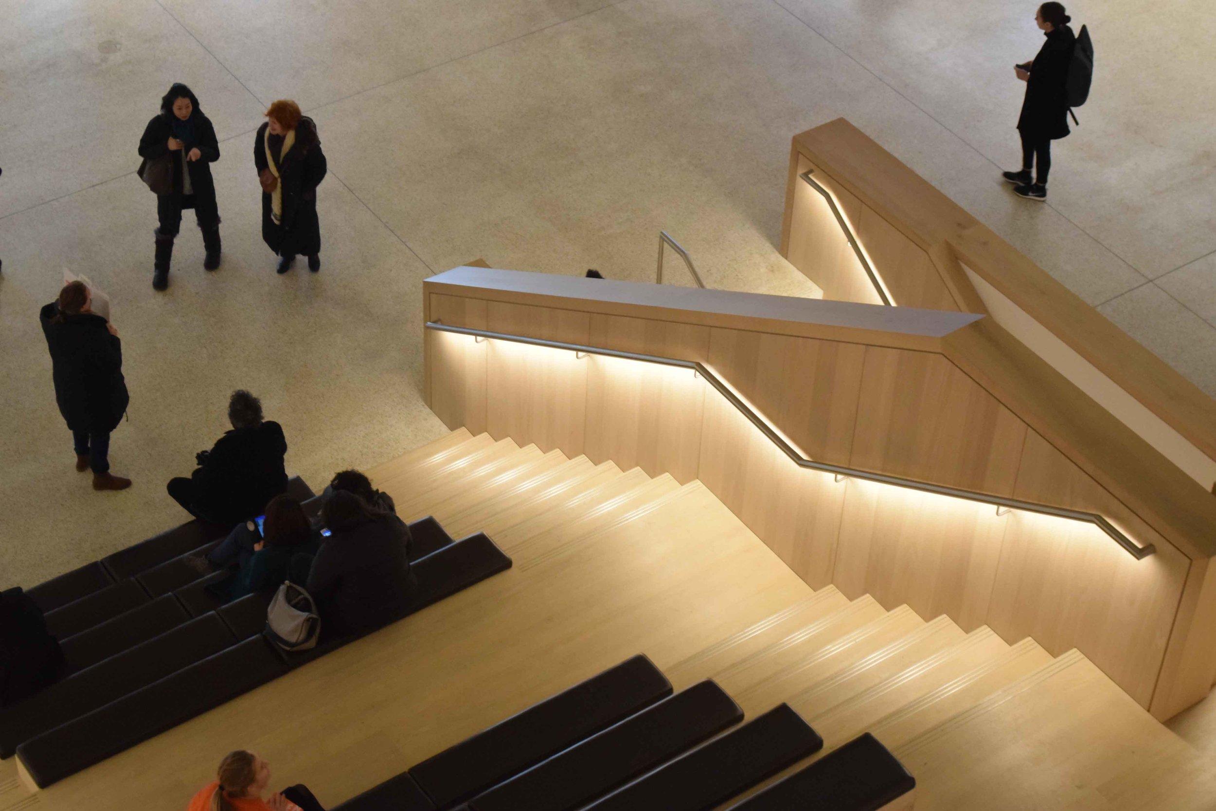 Design Museum stair detial 2- ©Detail Movement