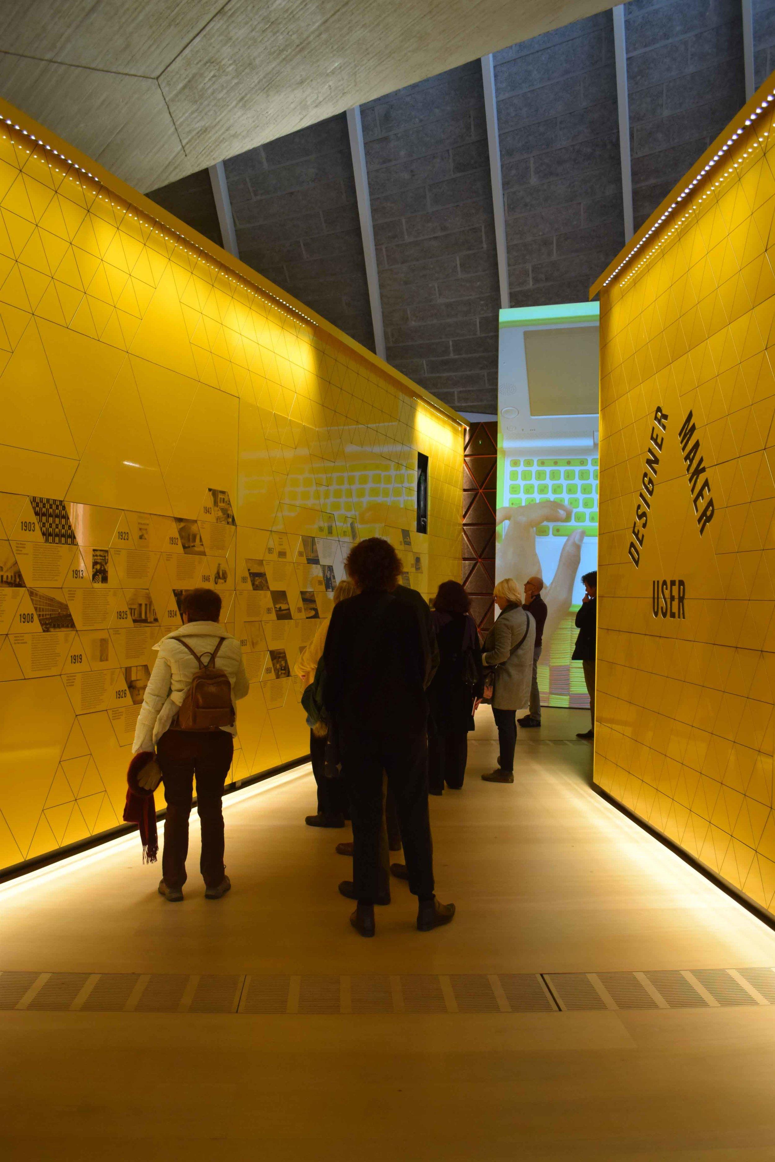 Design Museum Exhibition entry - ©Detail Movement