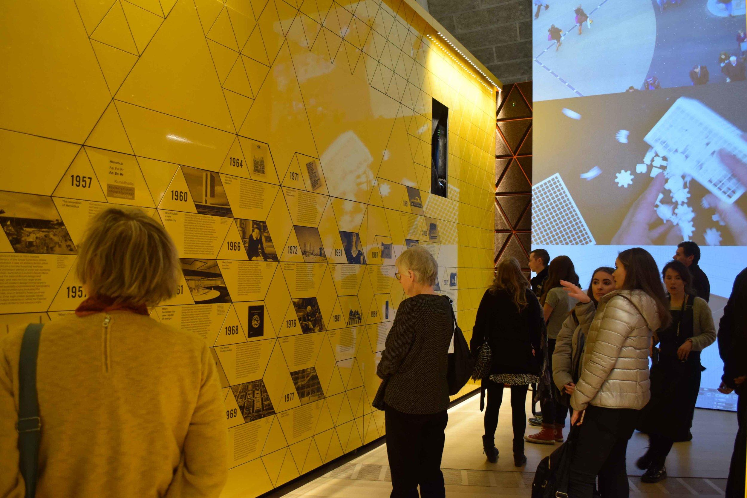 Design Museum exhibition entry 2 - ©Detail Movement