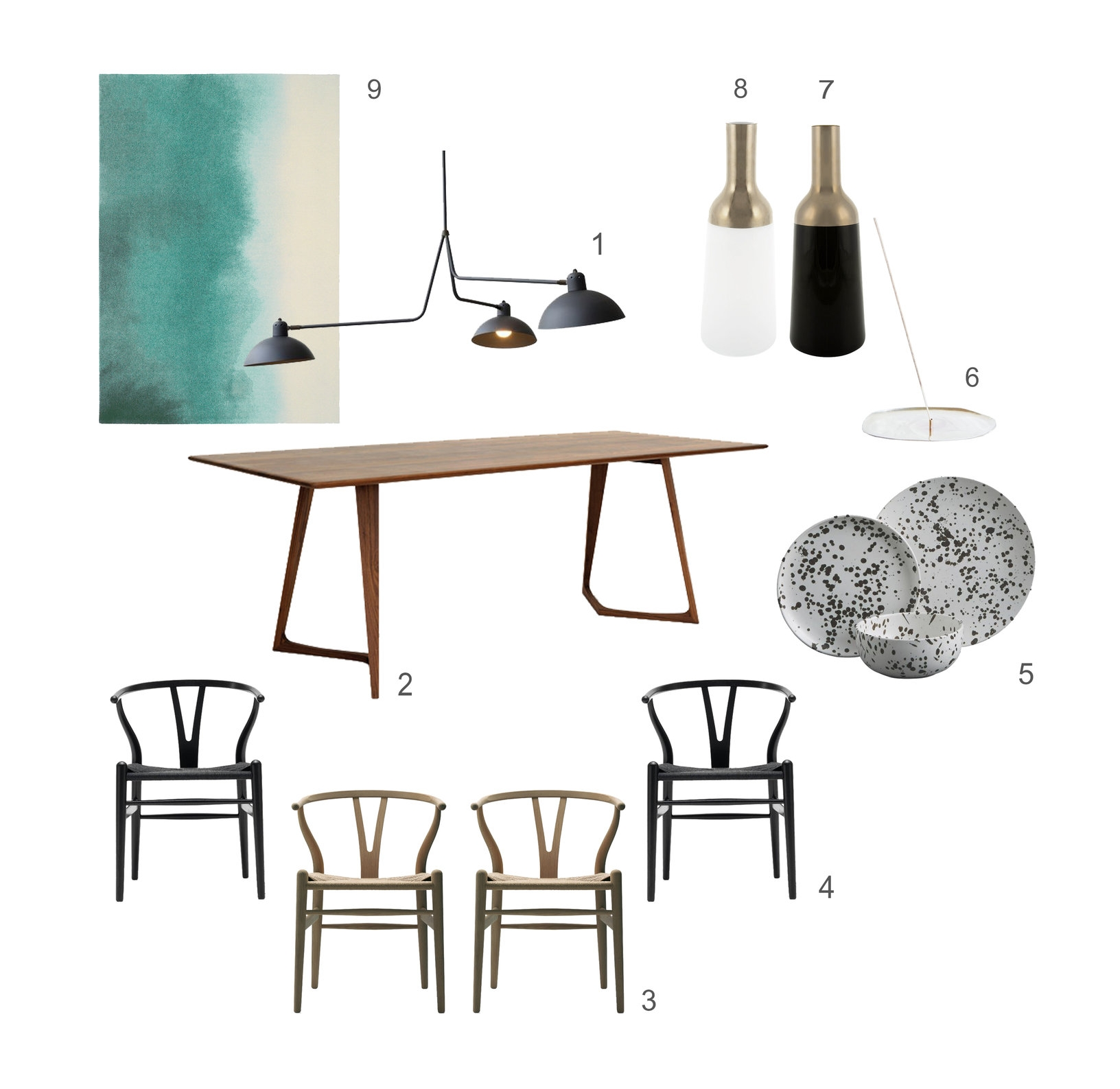 ©Detail Movement  -  Get The Look no 7 - Dining Room