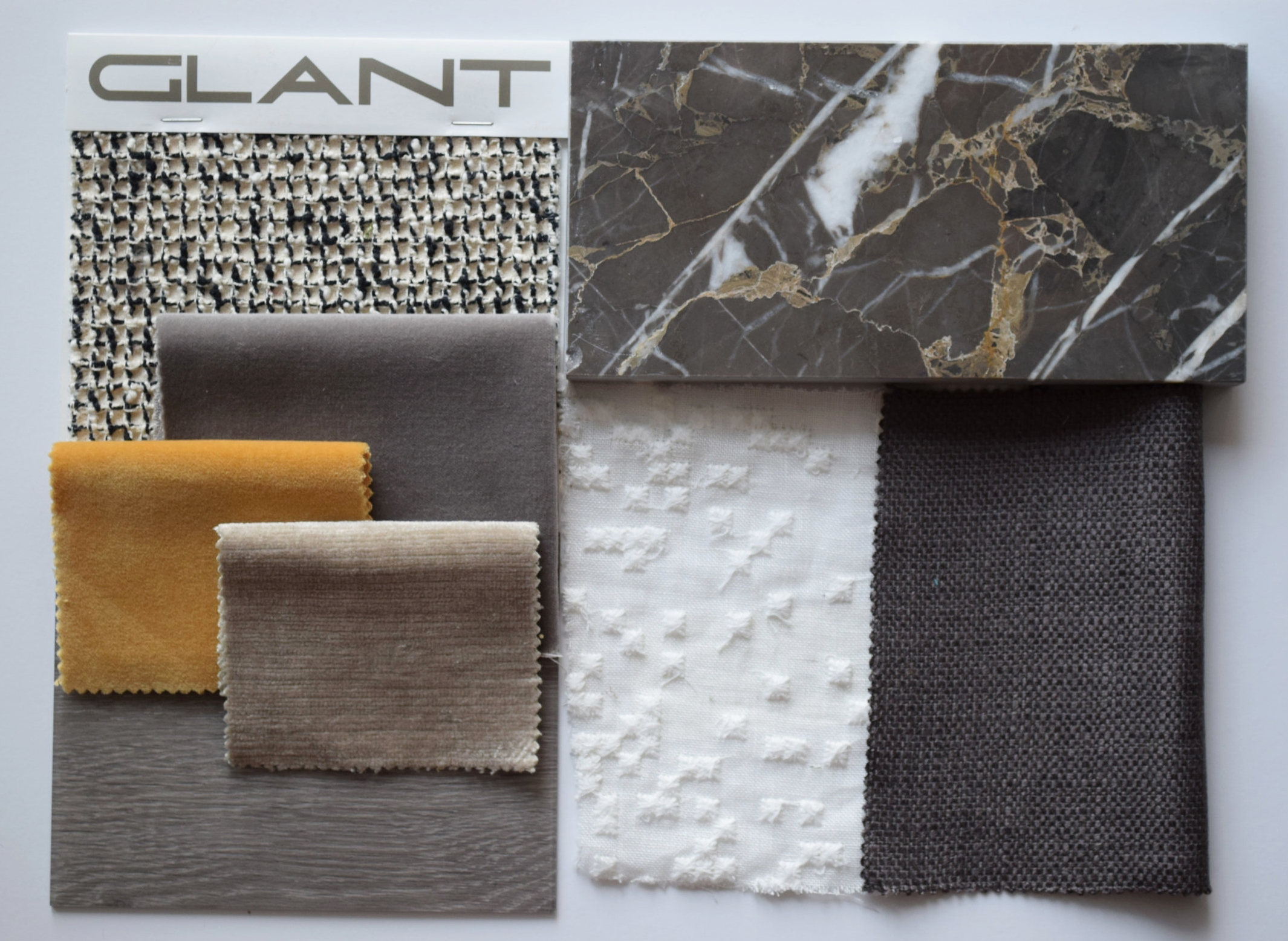 Fabric Sample Board Interior Design by ©Detail Movement 2
