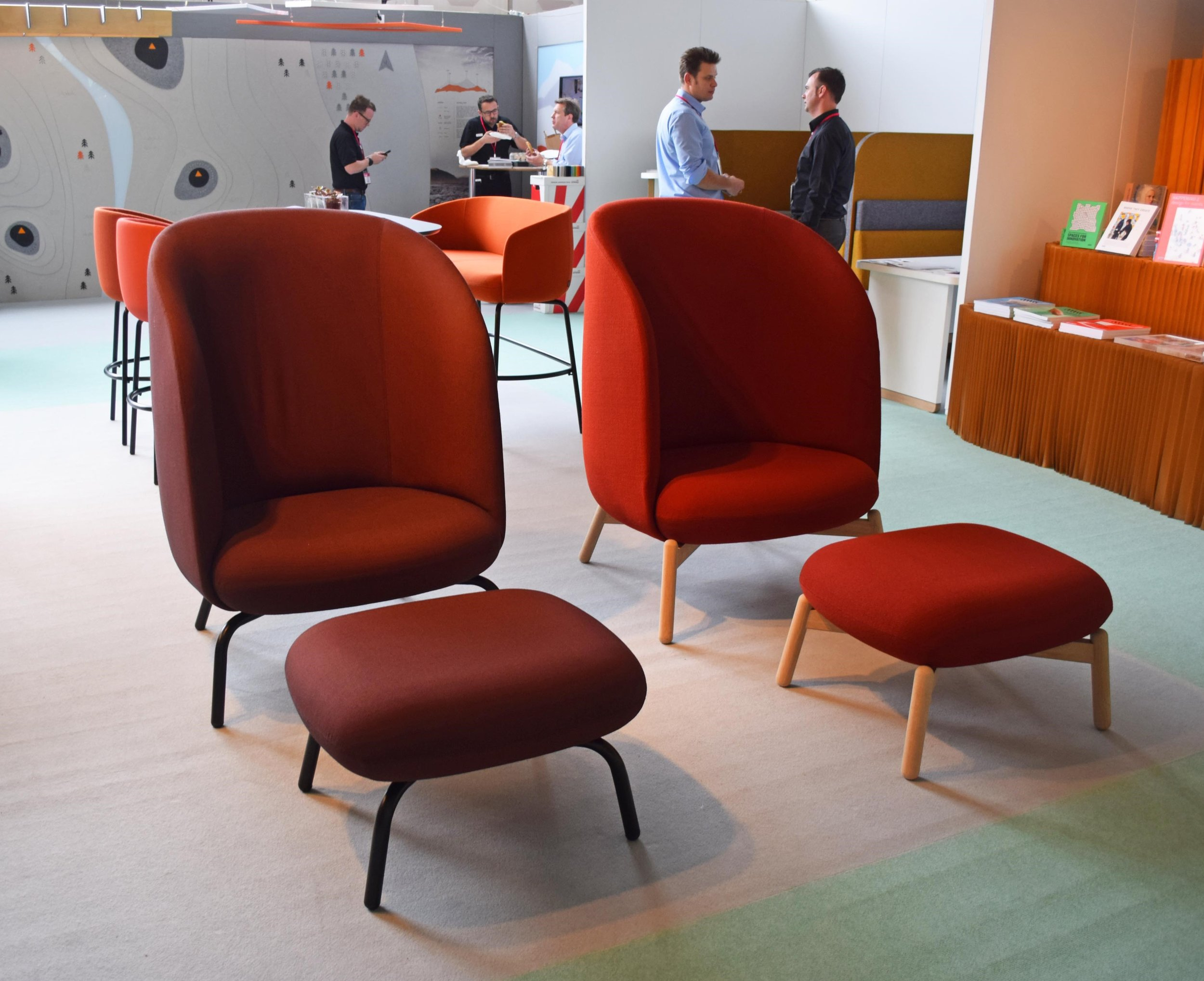 Easy Nest Armchairs by +HALLE ©Detail Movement