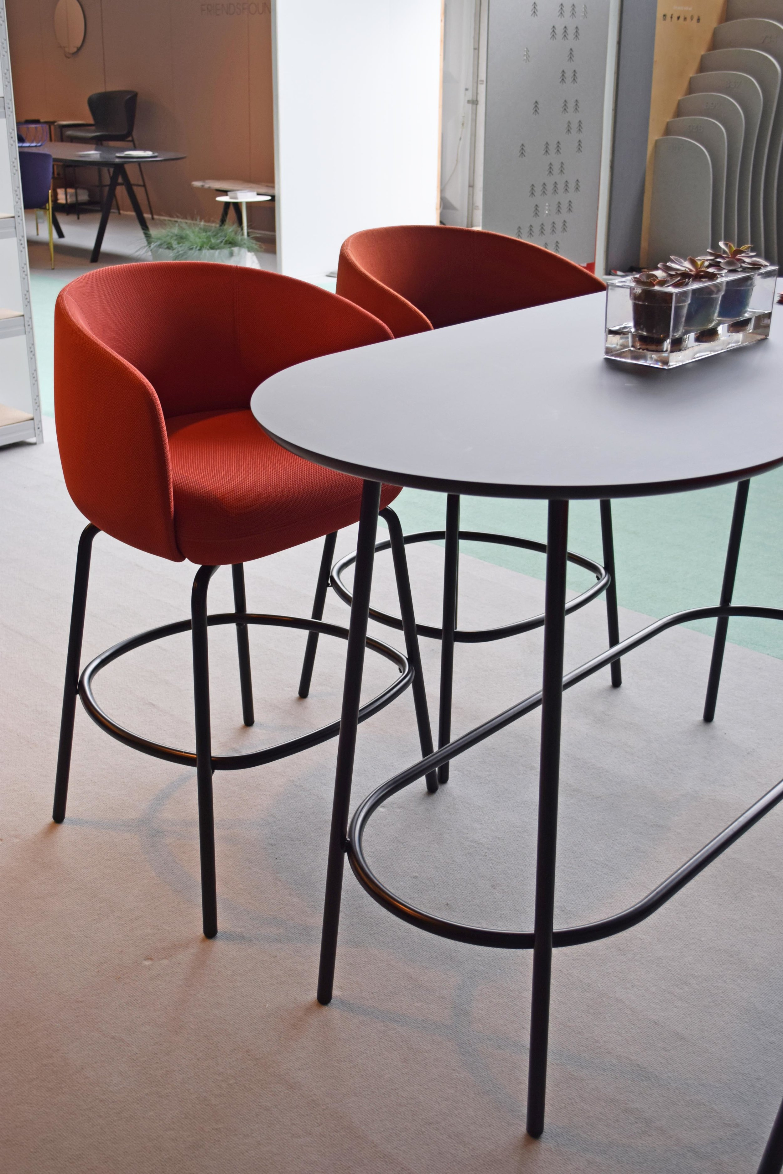 High Nest Stools by +HALLE 1 ©Detail Movement