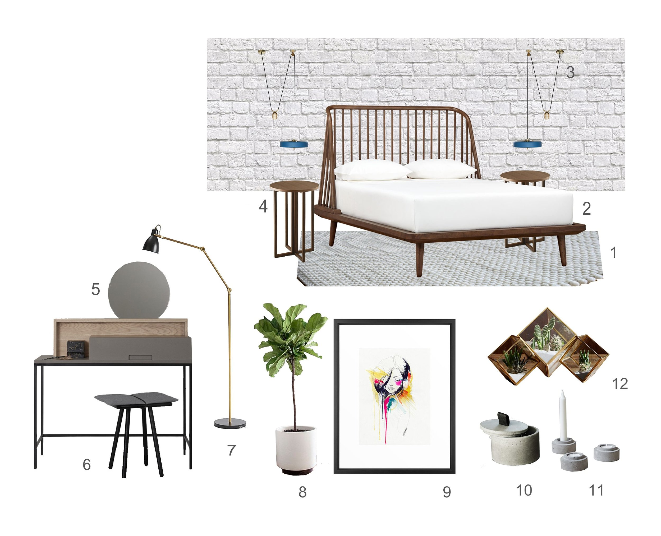 Get The Look no 10 Casual Bedroom ©Detail Movement 2