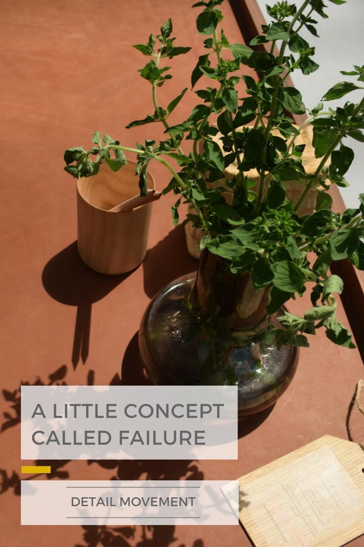 A little concept called Failure ©Detail Movement PIN 2