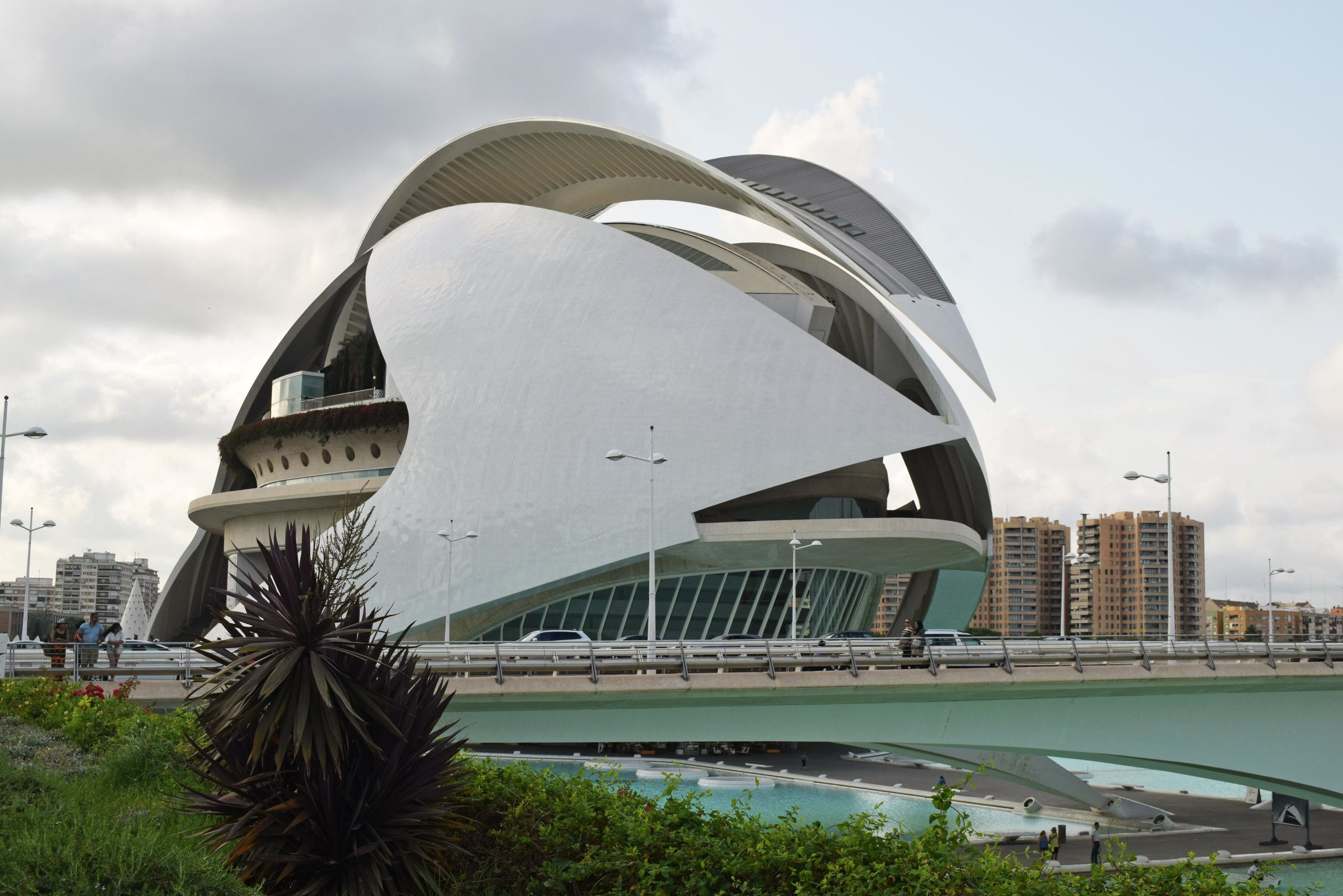 Art Museum City of Science Valencia  ©Detail Movement