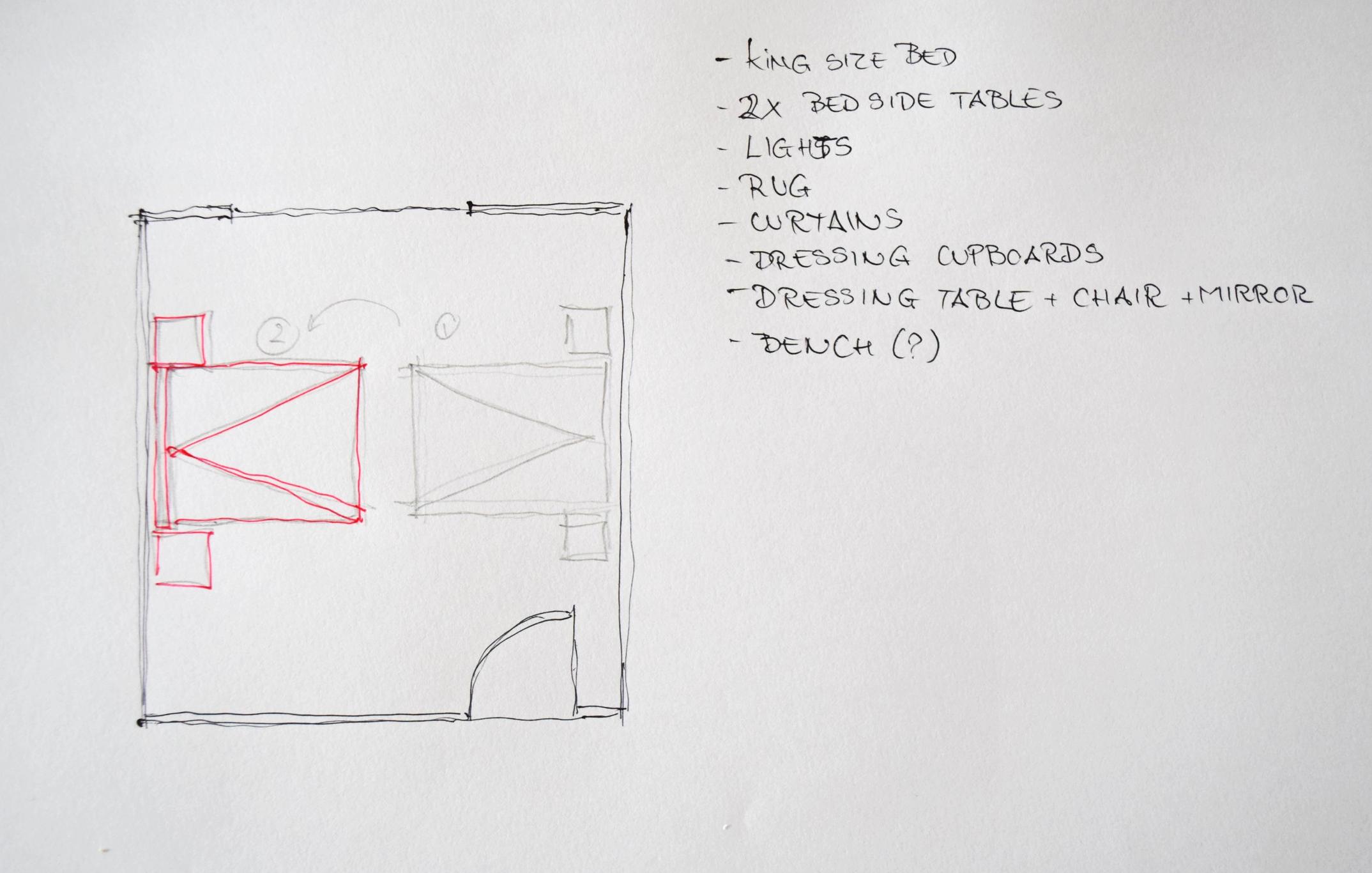 Bedroom Design Basics 5 ©Detail Movement
