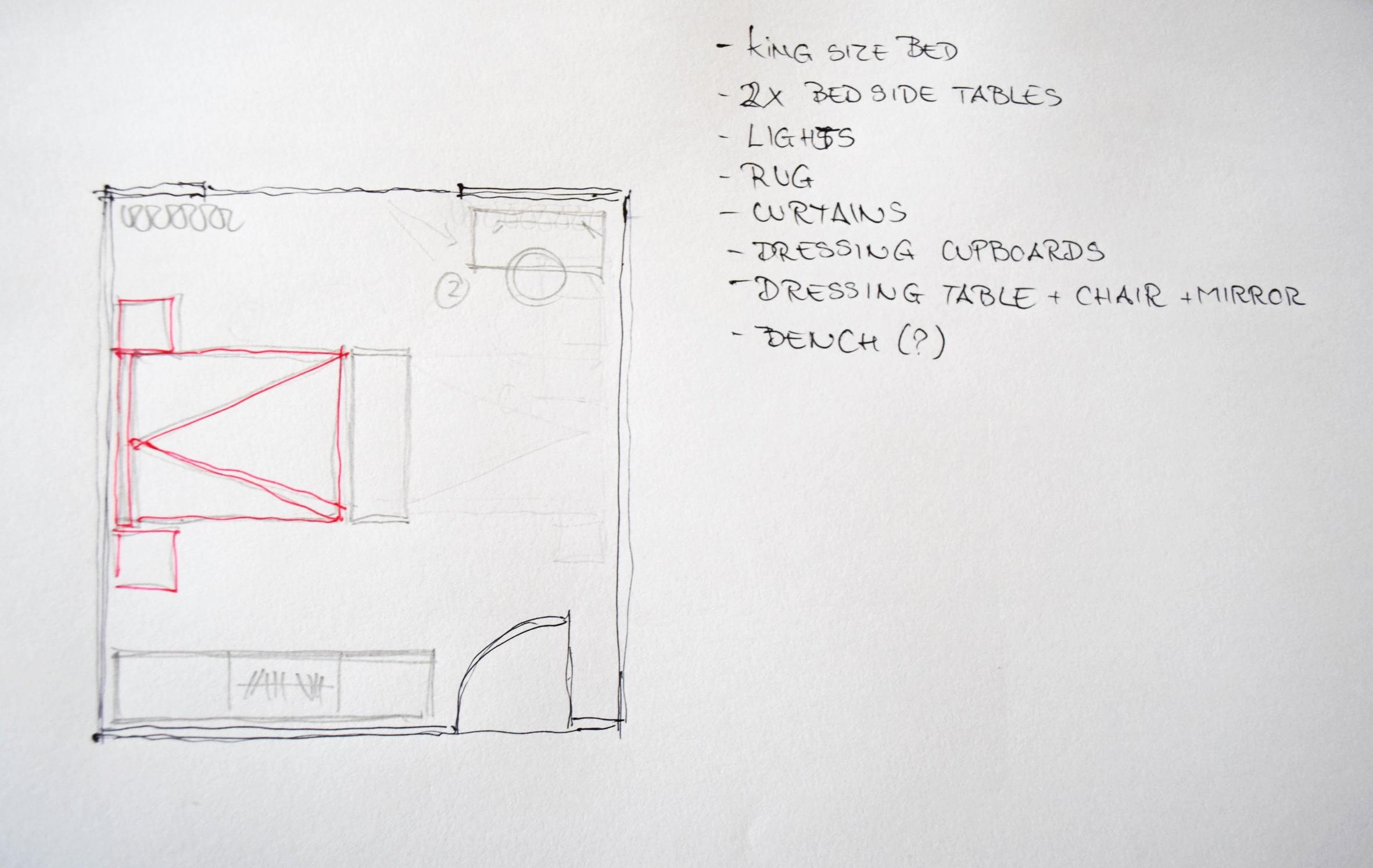 Bedroom Design Basics 8 ©Detail Movement