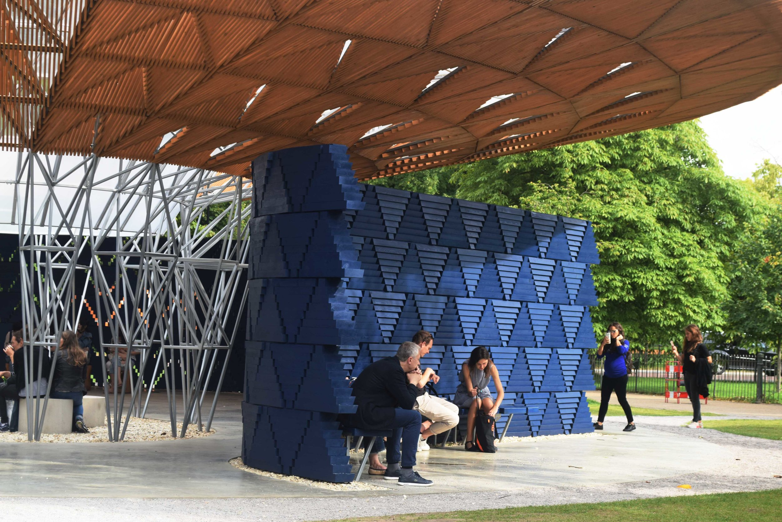 Serpentine Pavilion ©Detail Movement 5