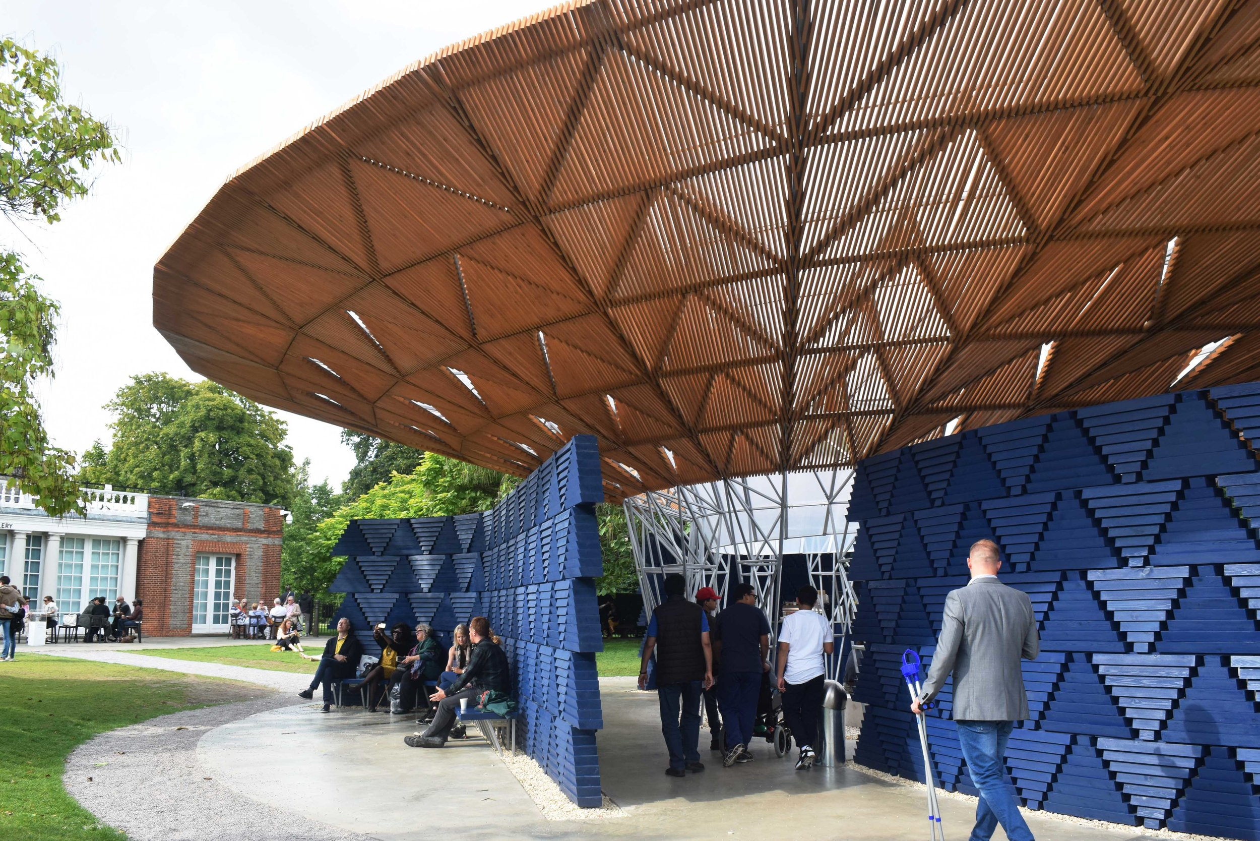 Serpentine Pavilion ©Detail Movement