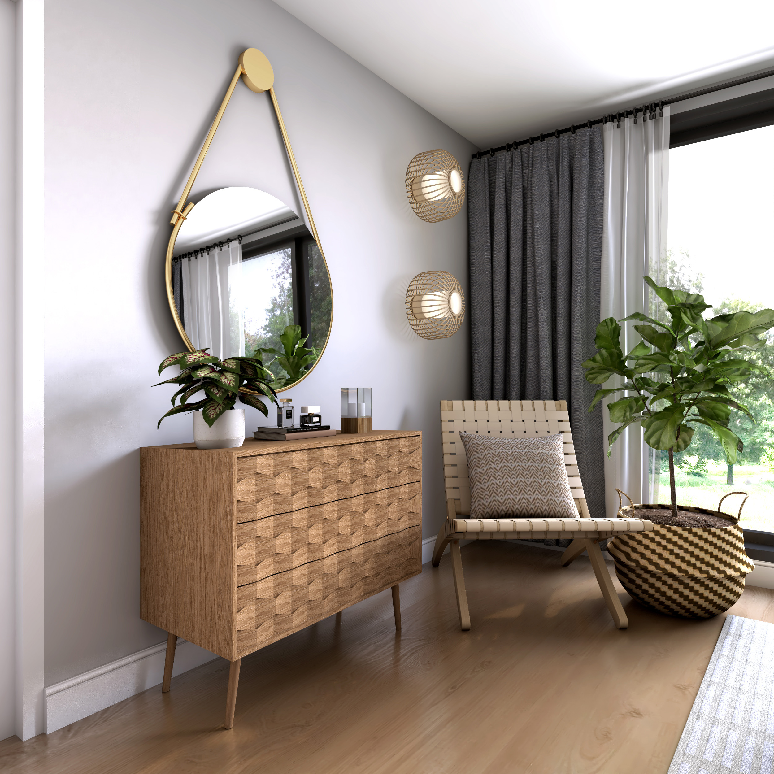 ©Detail Movement - Project Shade  Guest Bedroom Storage