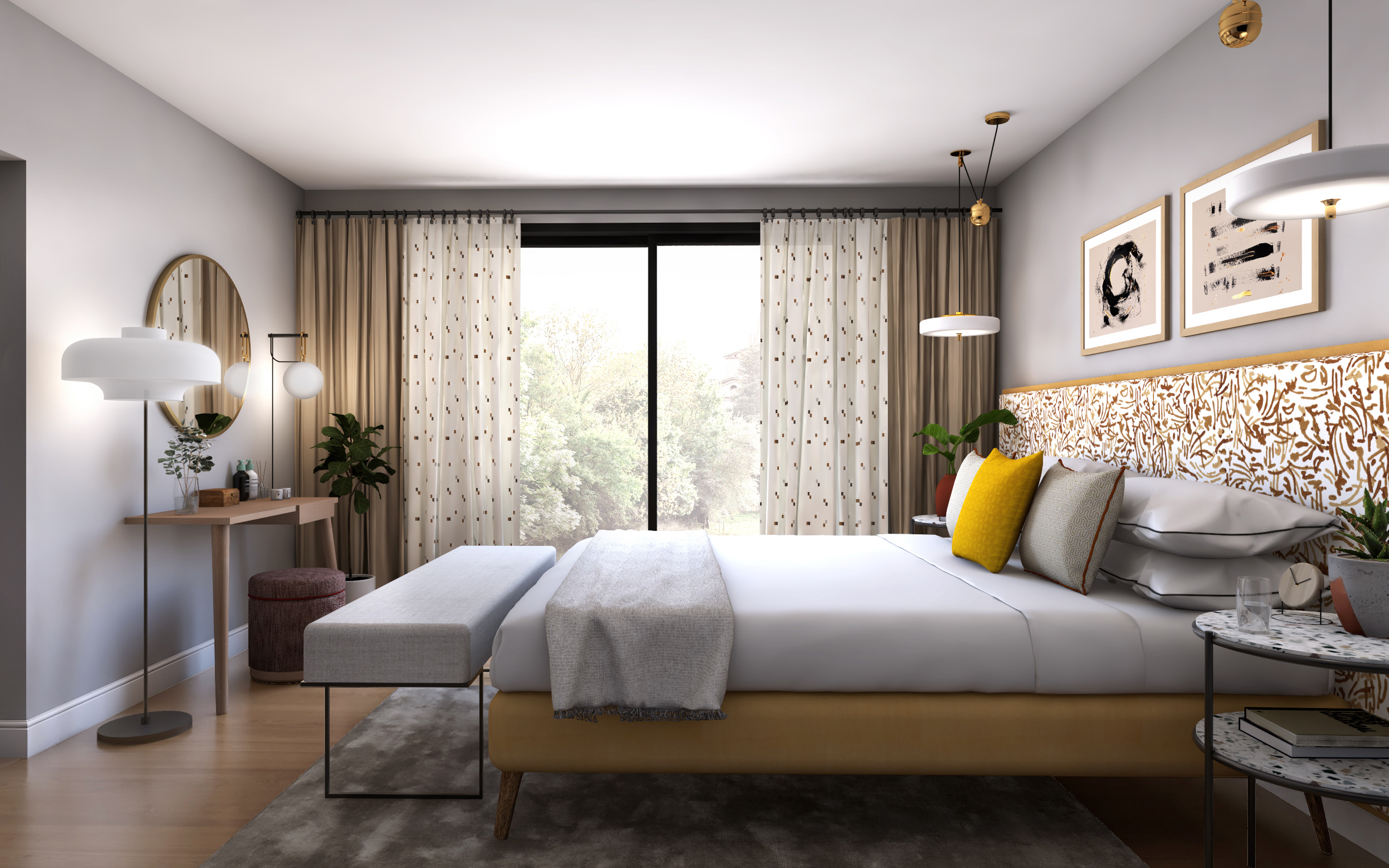 ©Detail Movement - Project Shade Master Bedroom