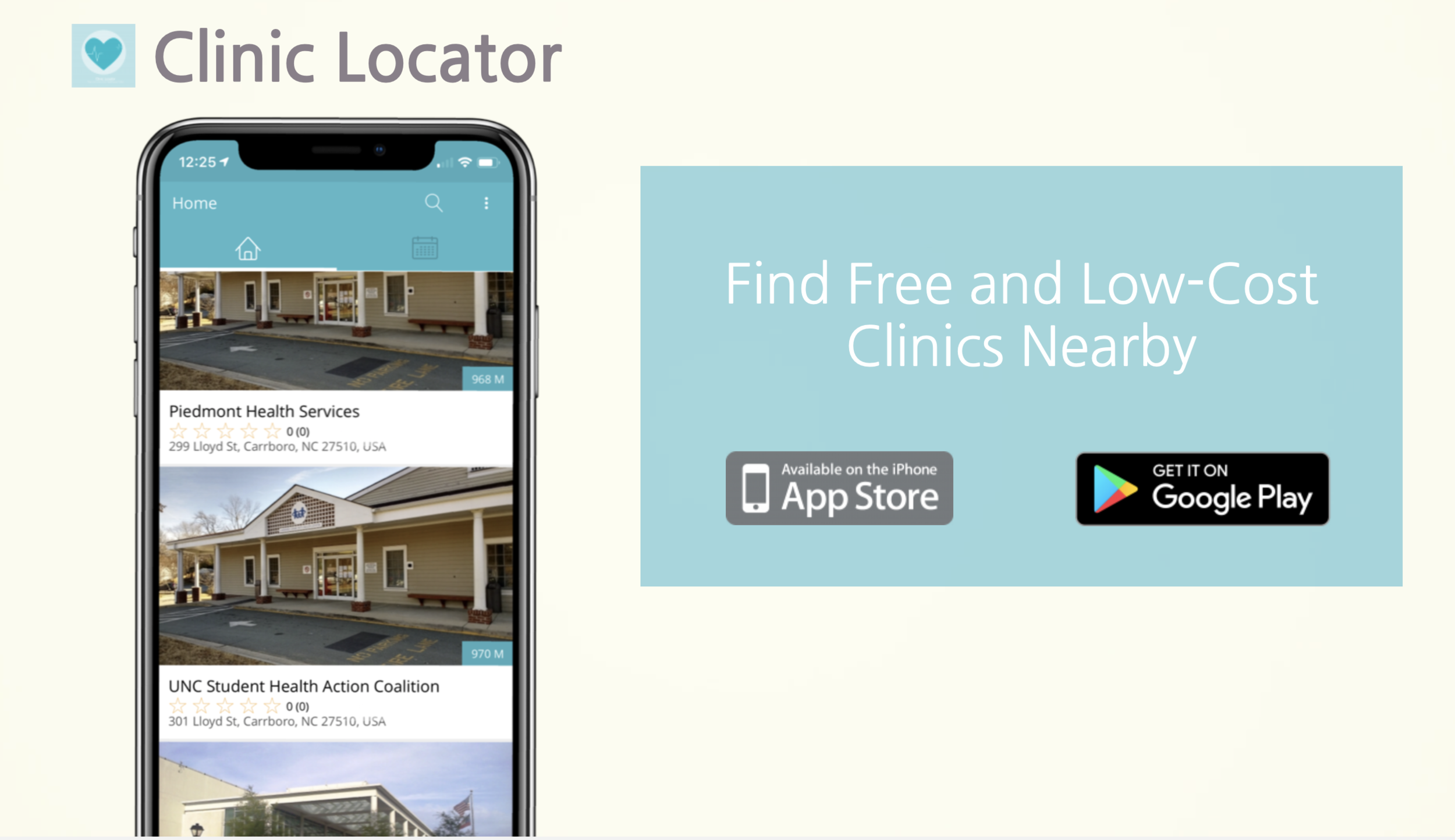 Clinic Locator — Health Smart Technologies
