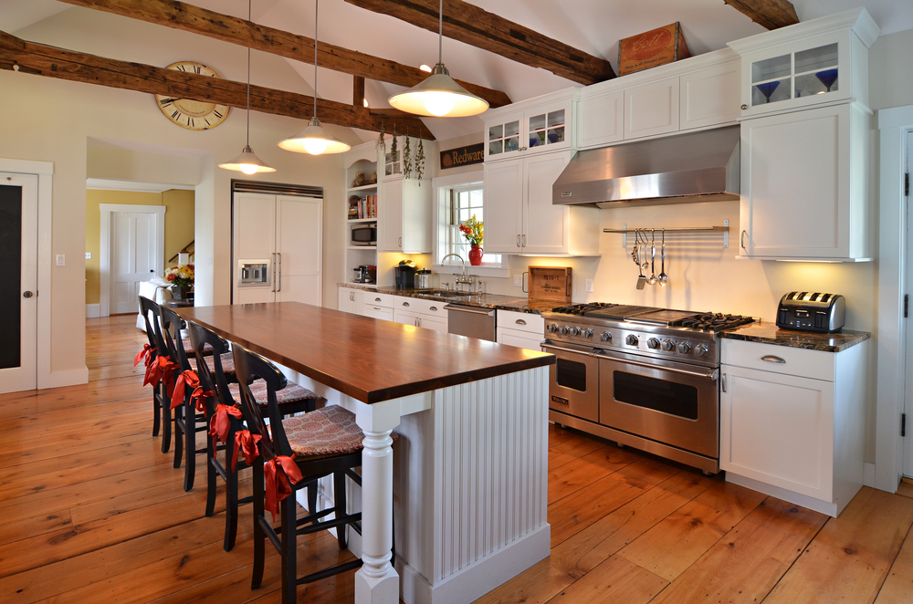 A new kitchen in an antique NH home