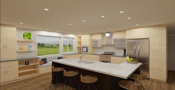 Chief Architect   software enables me to give a client a 3D rendering of their new kitchen.
