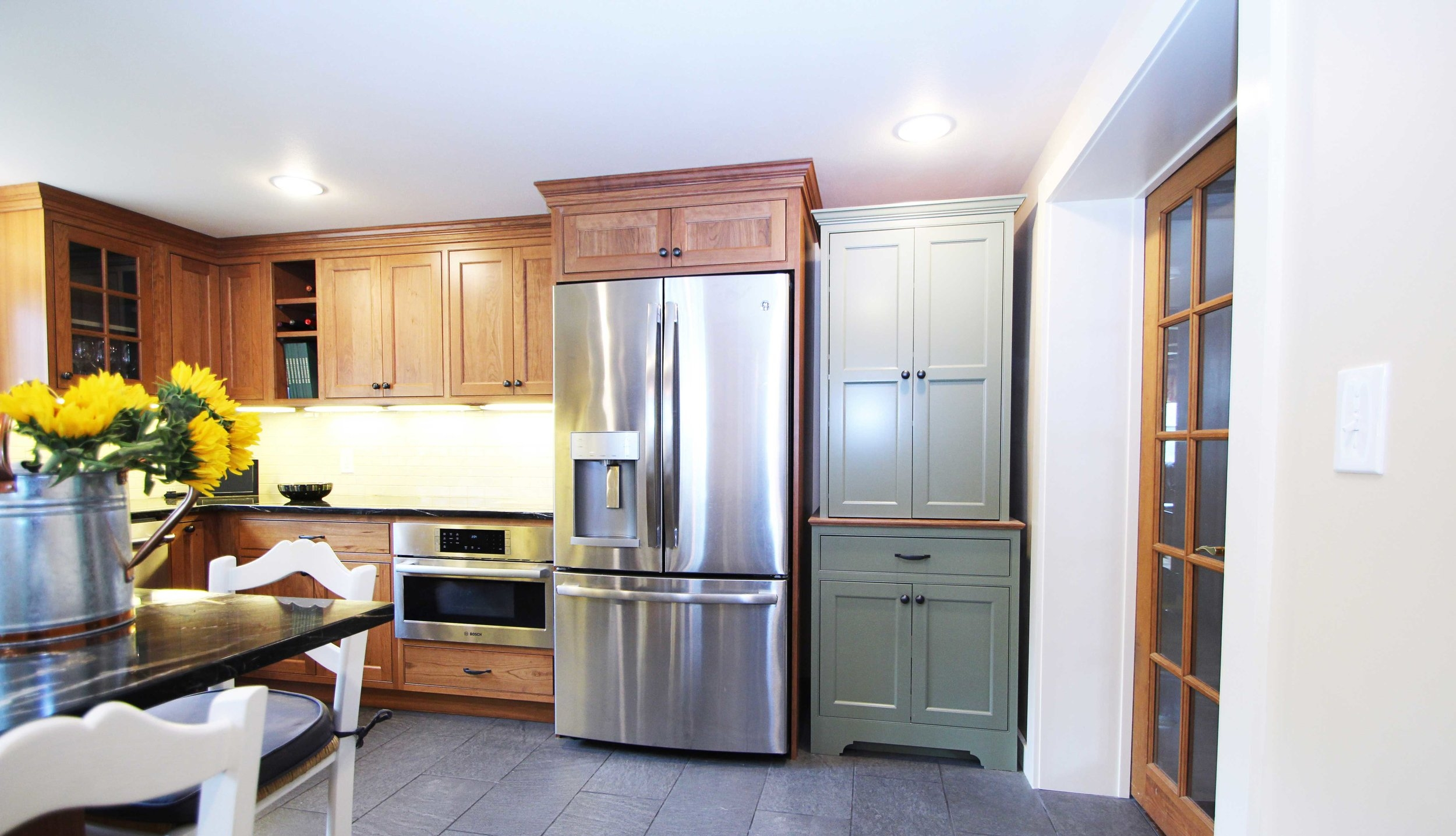 The final kitchen design made a reality.