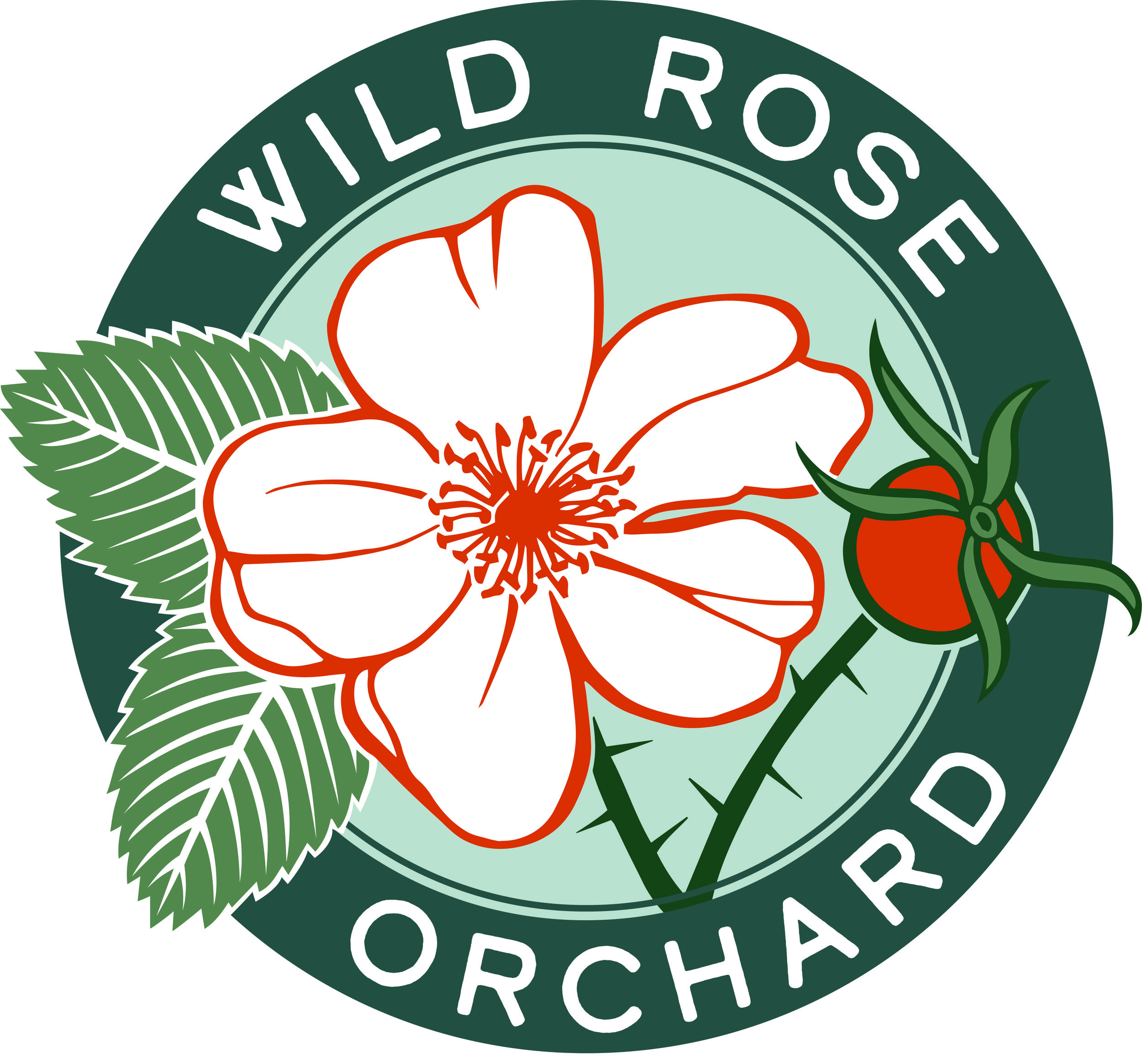 Wild Rose Orchard Logo