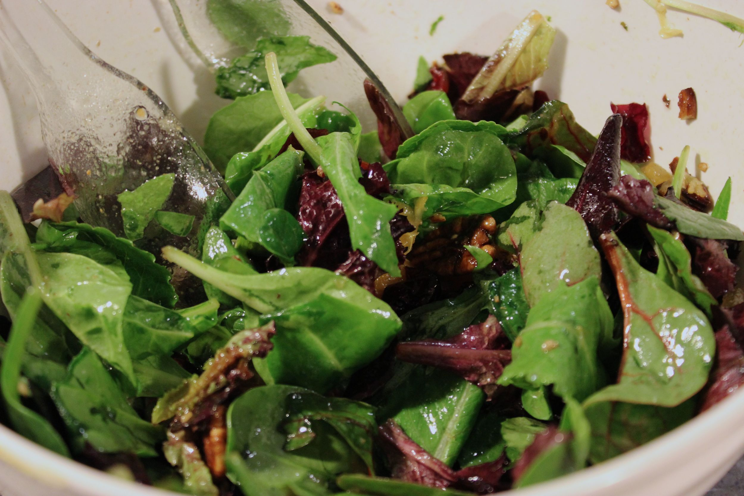 Fresh, crisp and sweet. One of my favorite salads