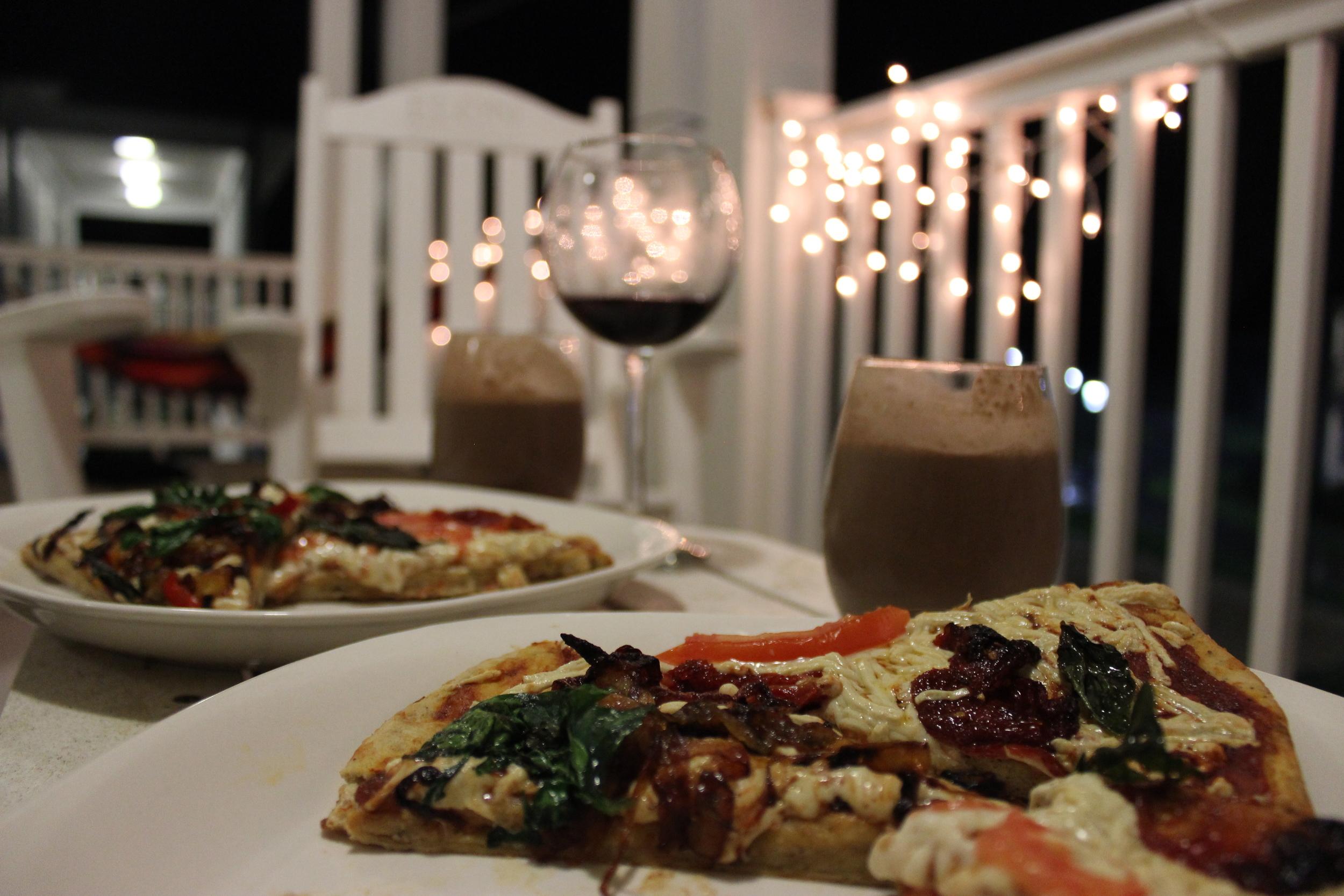 Pizza | Milkshakes | Vegan.JPG