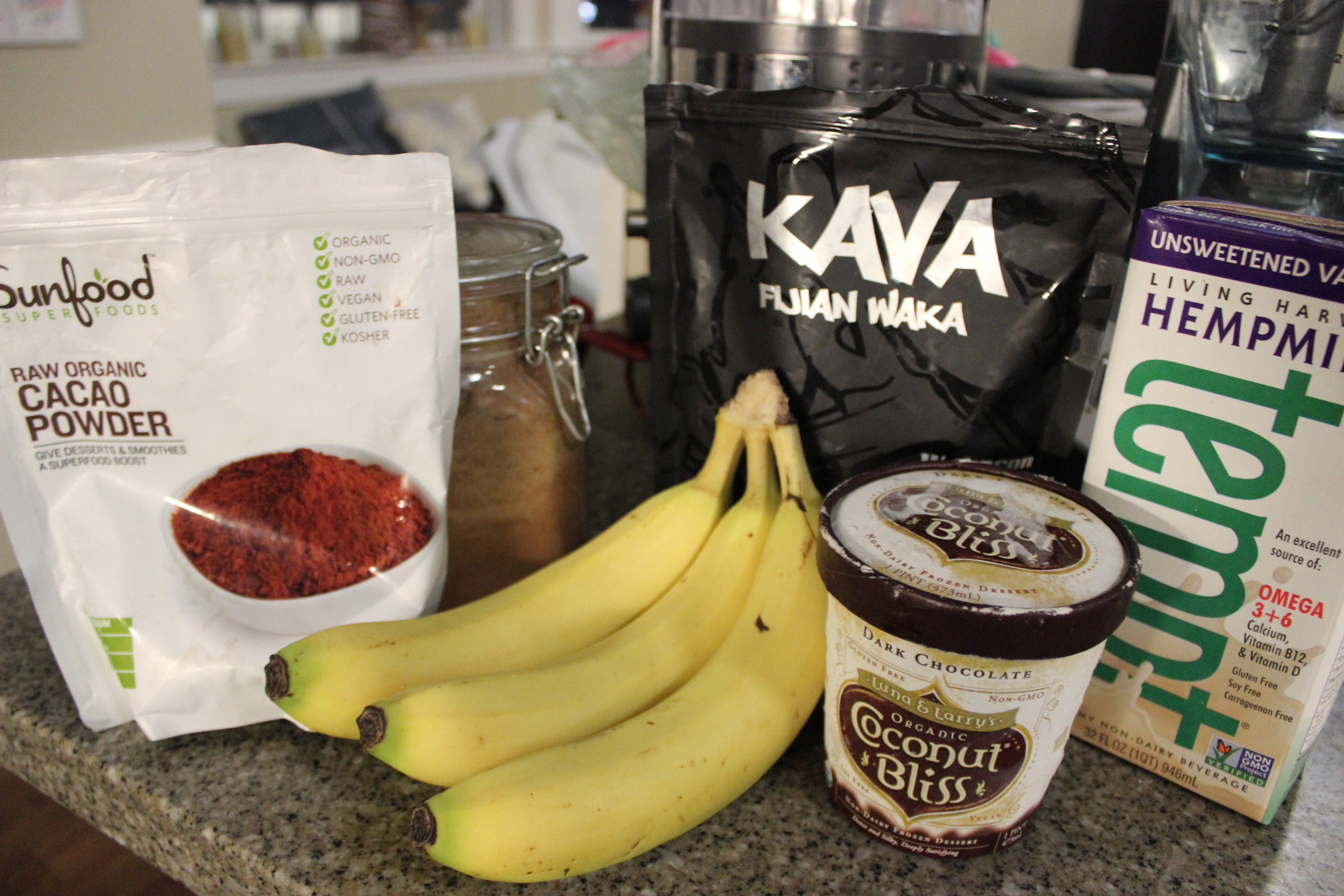 kava chocolate milkshakes
