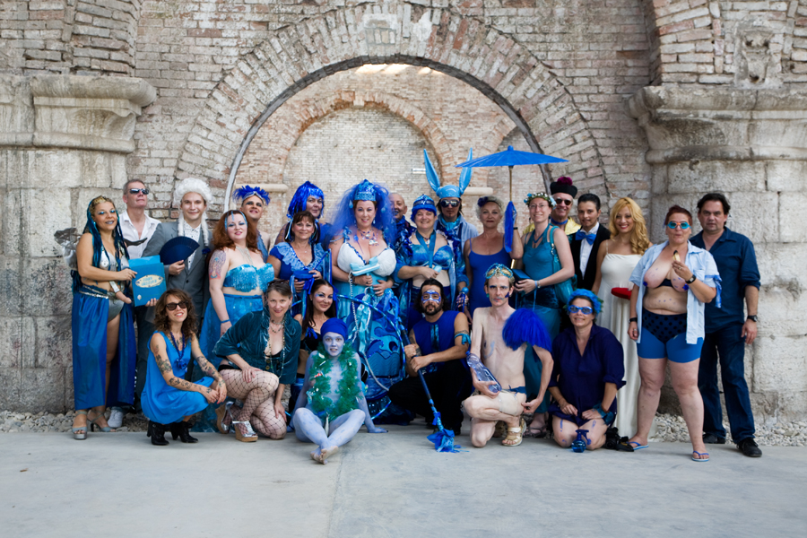 Ecosexual Blue Wedding to the Sea with Annie Sprinkle & Beth Stephens