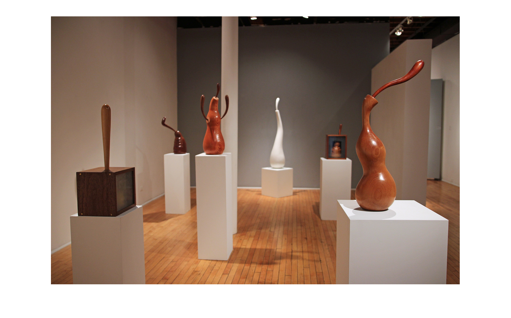 'Sculptures' exhibition, 2019 - Jean Albano Gallery