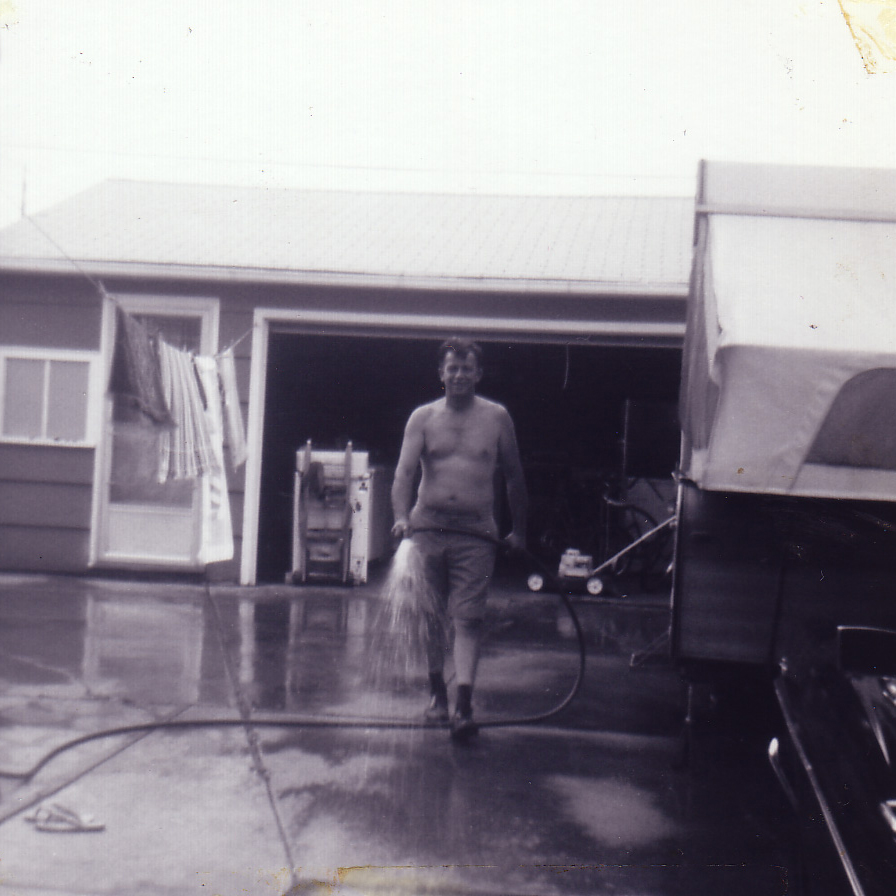 circa 1975 - The first snapshot I ever took with my brownie camera.