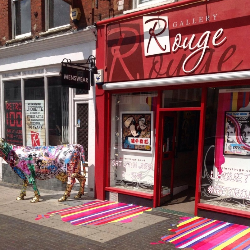 Gallery Rouge  27 Chequer St St Albans, UK