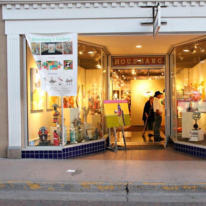 Houshang Gallery  50 E San Francisco St. Santa Fe, NM 87501