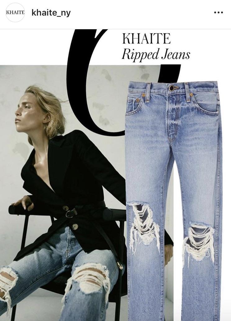 Khaite Jeans featured by LSD