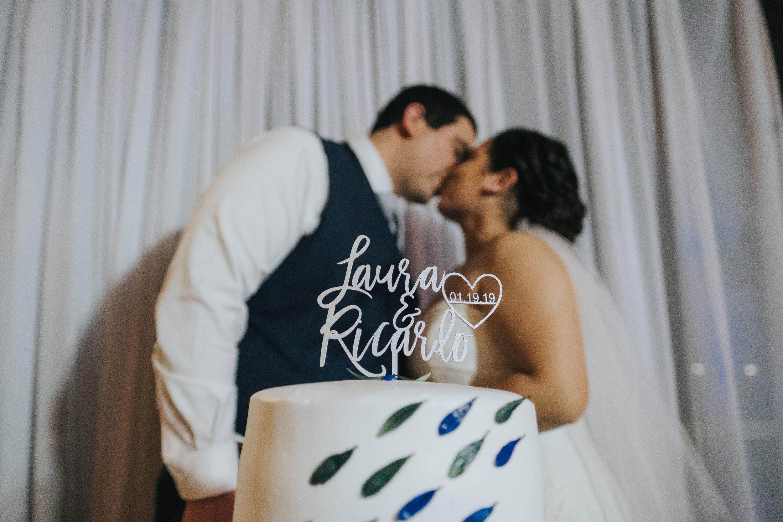 San Jose Wedding Kiss Photos