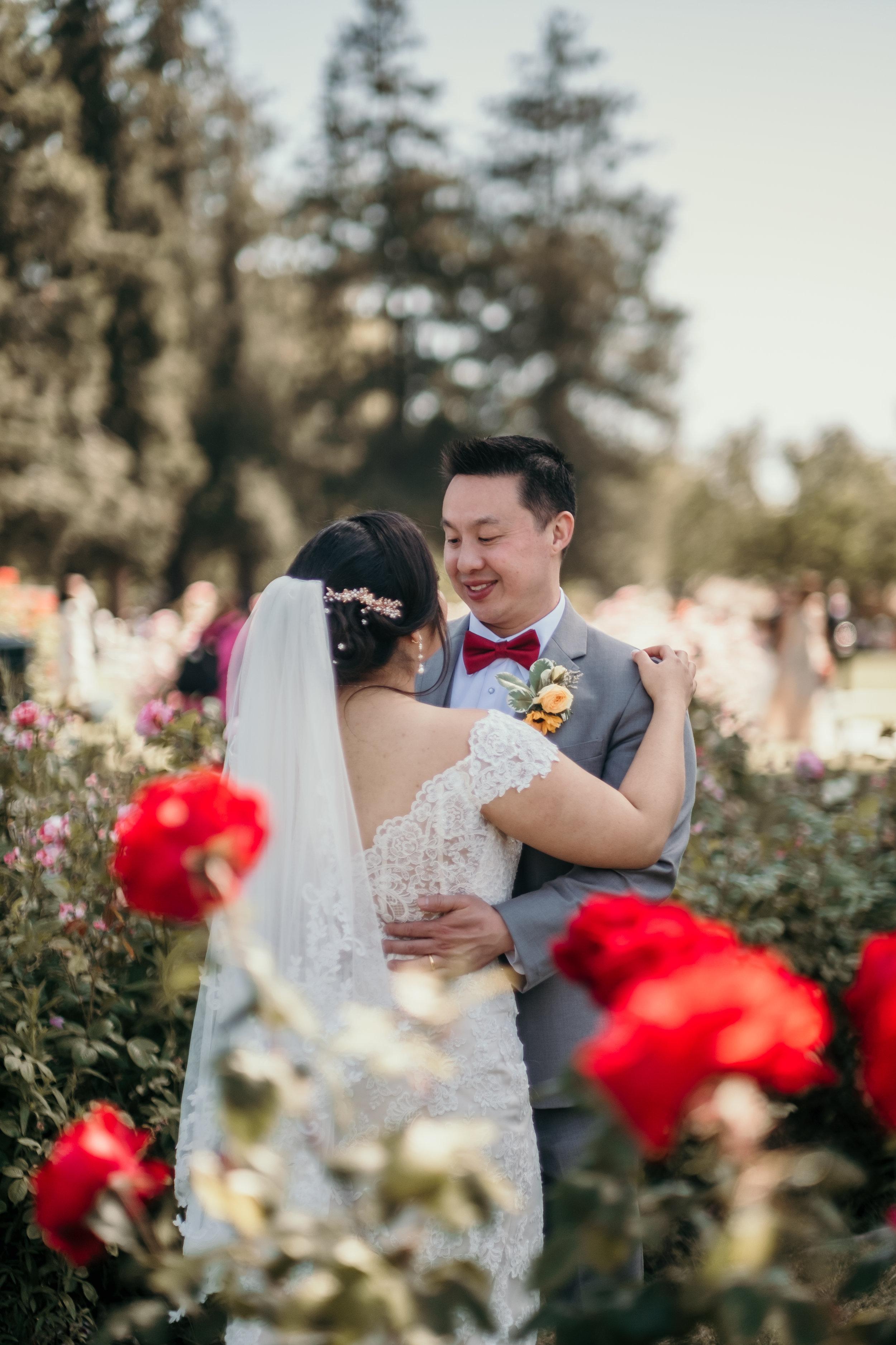 San Jose Rose Garden Wedding