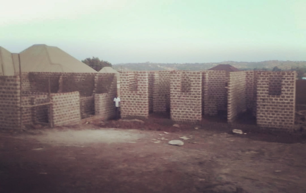 October 31, 2018 The family homes are ready to have roofs added and we are starting to lay the foundation for the office and training facility buildings.