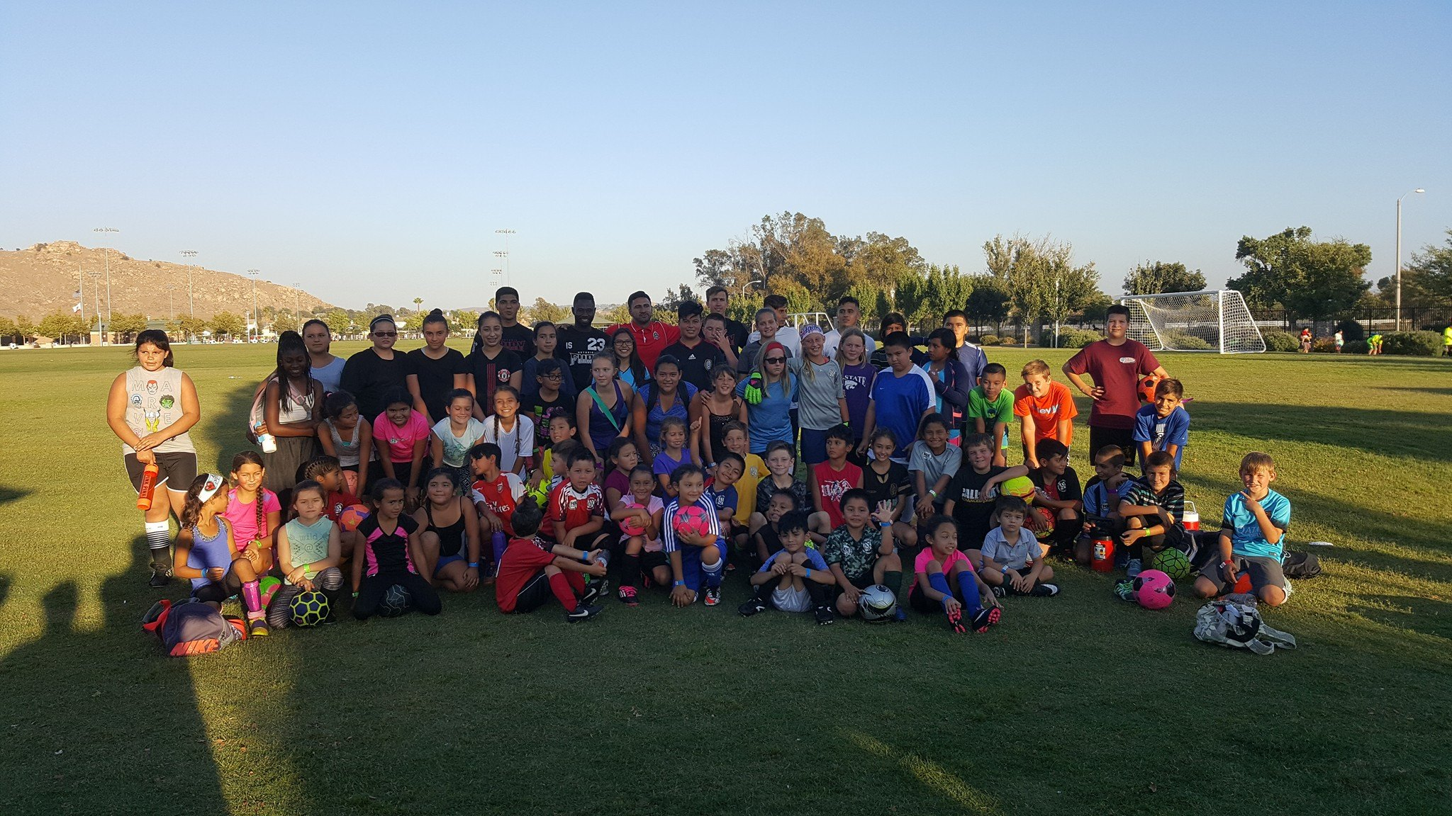 Our 63 attendees and some of the Ontario Fury players!