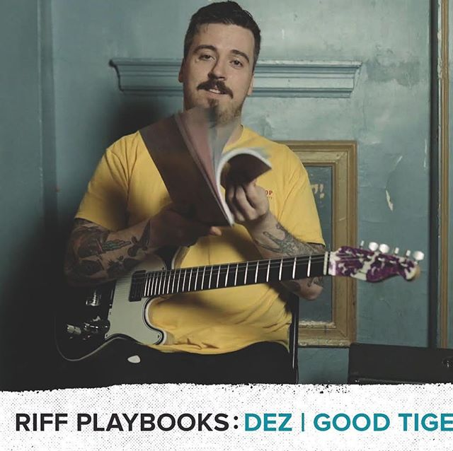 Dez teamed up with the guys @sheethappenspublishing for this little video series. The videos go over how to play the verse riff from 'The Devil Thinks I'm Sinking' as well as a quick fire interview. Link is in their bio.