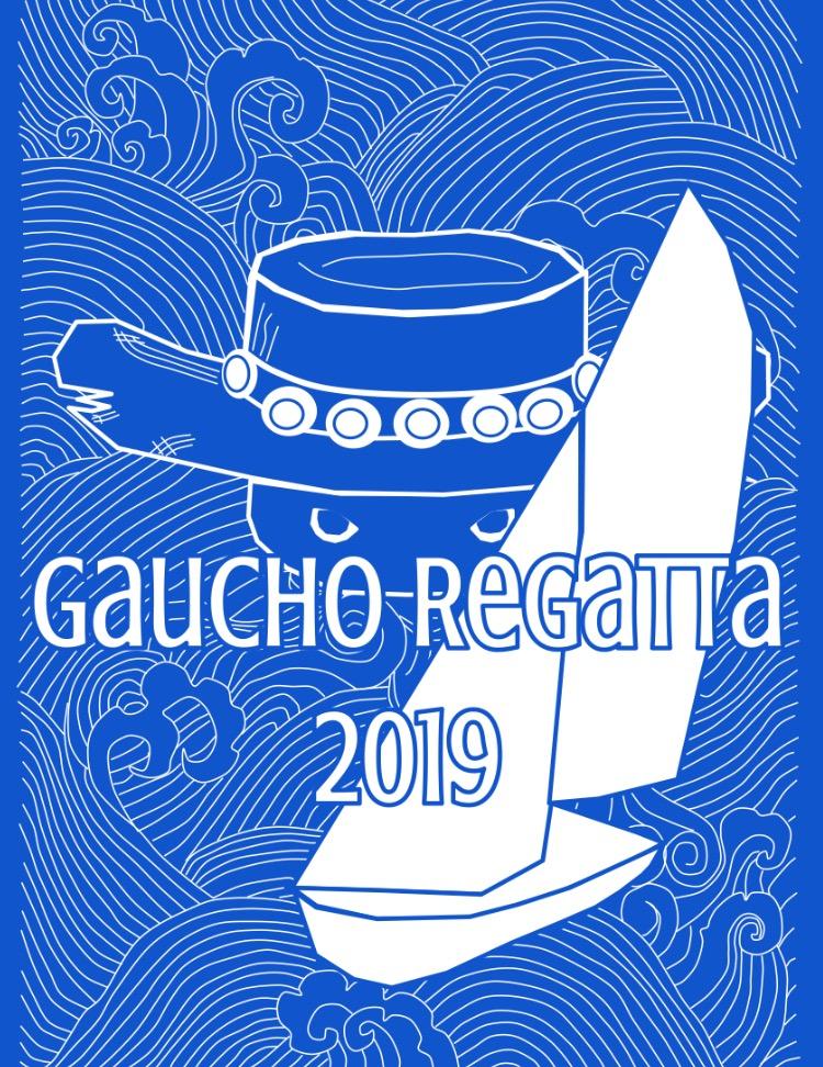 2019 Gaucho Regatta T-Shirt Design (front and back)