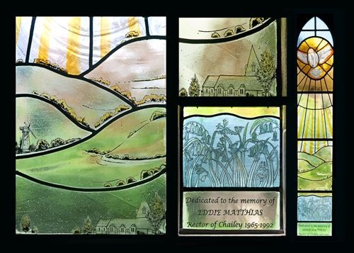 commemorative stained glass window design