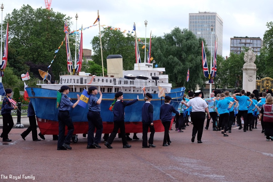 Royal Yacht Britannia Puppet