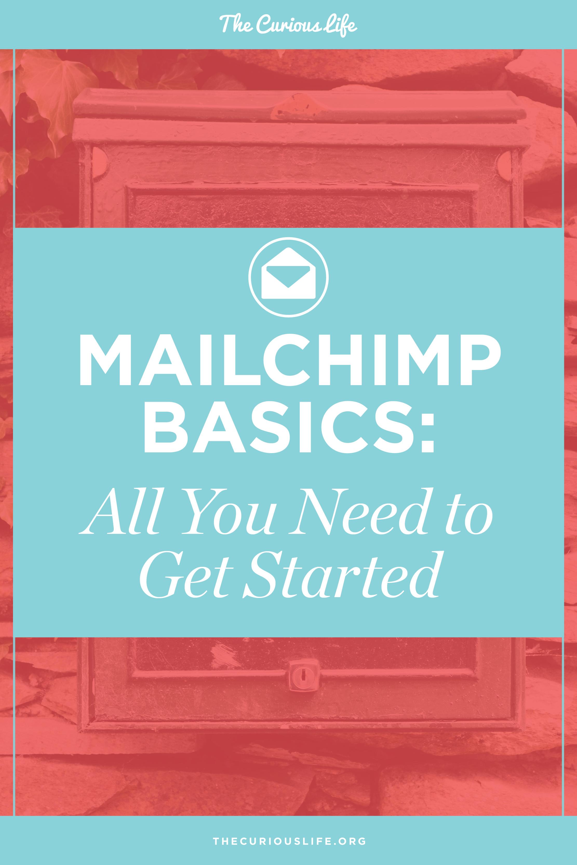 mailchimp basics how-to newsletter list tutorial