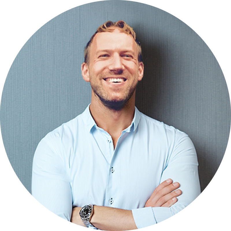 Scott Robson is a certified coach and does branding coaching for The Curious Life