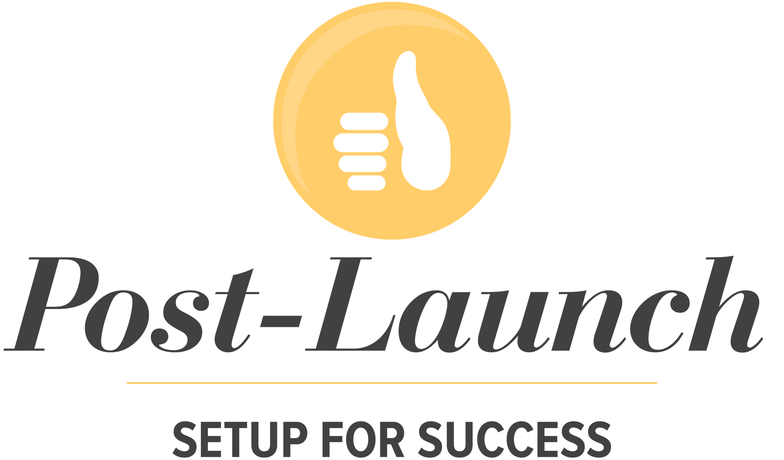 Post Launch of Pursuit with Passion Program for Entrepreneurs needing branding tips and a website.