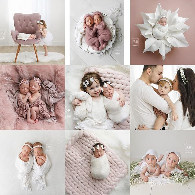 Apparently I'm not the only one with a pink obsession 🤔🥰💓 Cheers to another great year of snuggling all your wee babes in 2️⃣0️⃣1️⃣9️⃣ #top9of2018