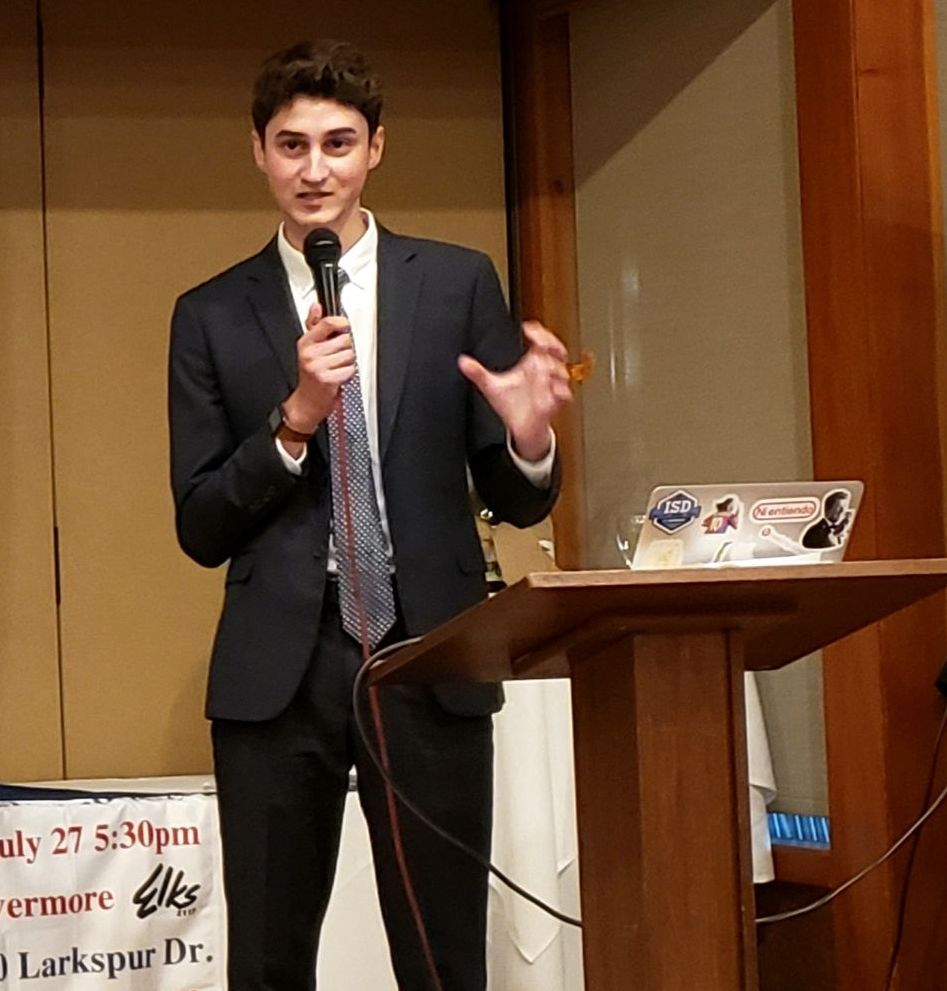 High School leader Adrian Rafizadeh talks about Radical New Left