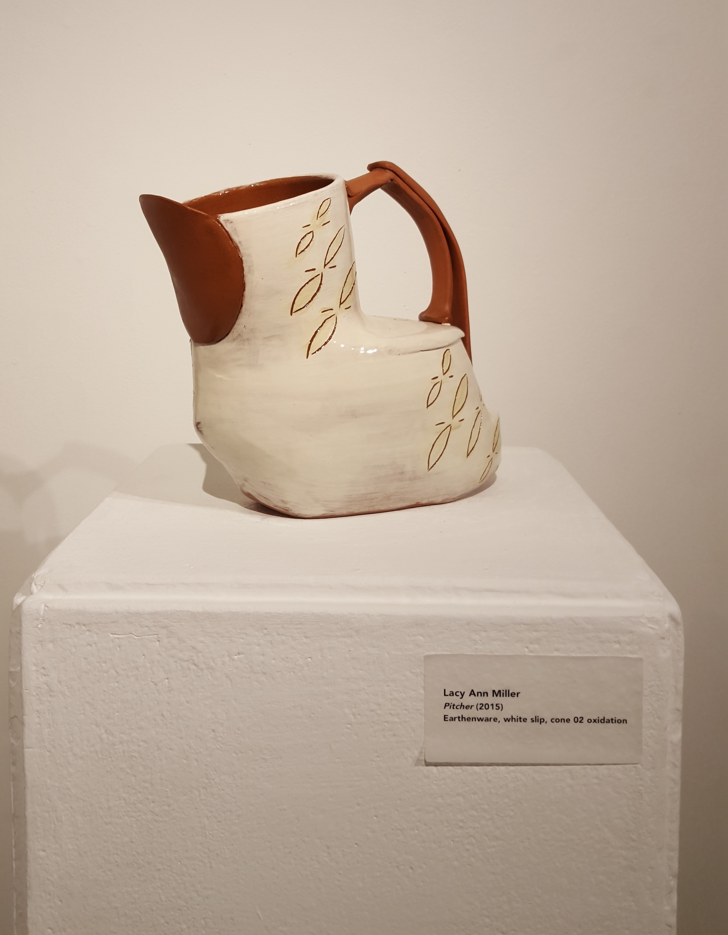Ceramic Pitcher by Lacy Miller